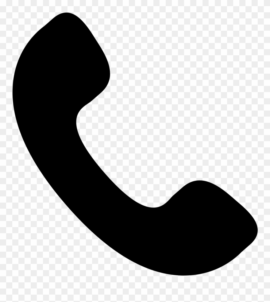 The icon shows a. Telephone clipart phone receiver