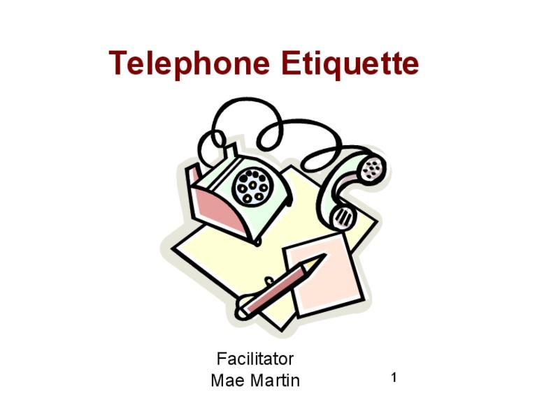 Telephone clipart telephone skill. Techniques