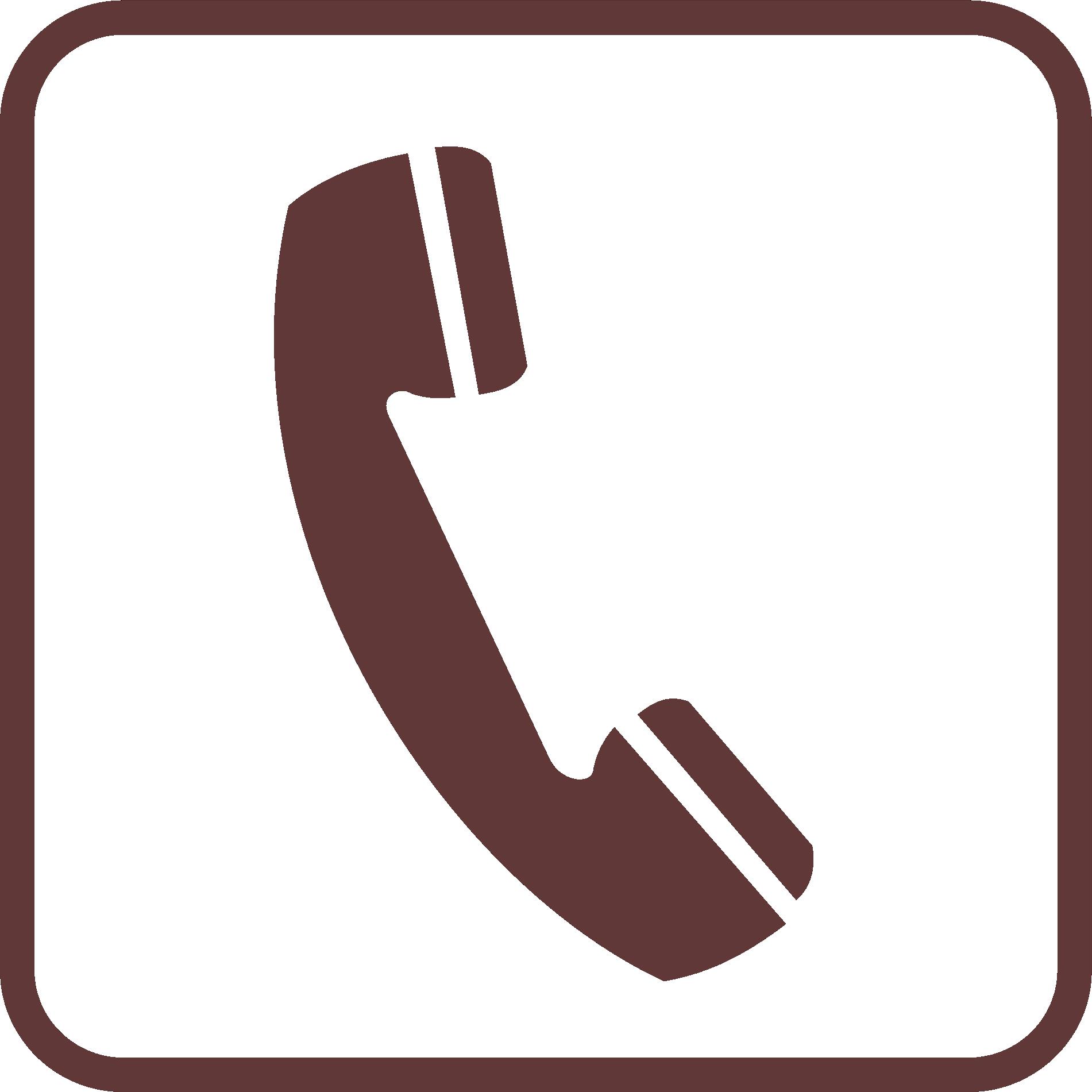 Bus logo payphone icon. Telephone clipart telephone symbol