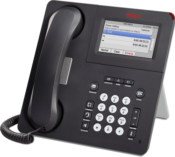 Telephone clipart telephony. Avaya voip phone