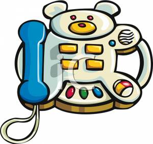 Kids royalty free picture. Telephone clipart toy phone