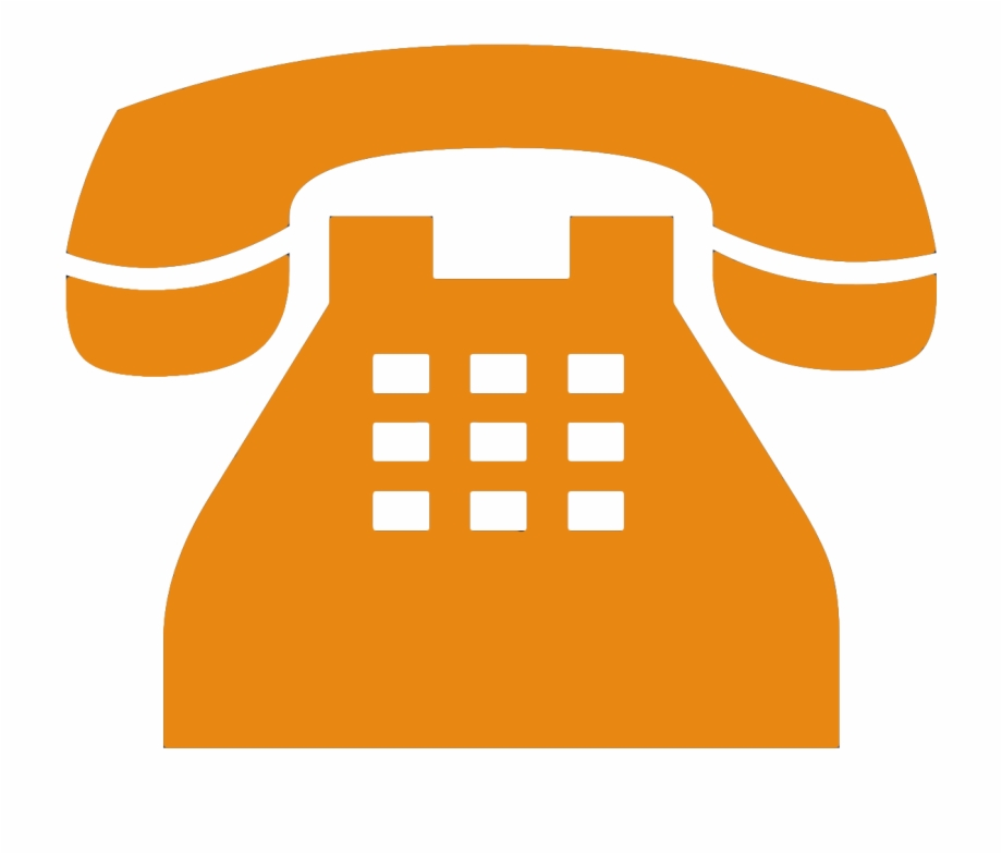 Old phone png transparent. Telephone clipart yellow telephone