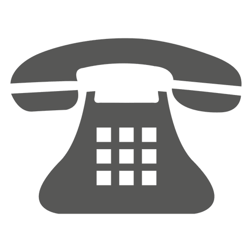 Vintage transparent svg vector. Telephone icon png