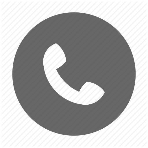 Telephone icon png. Trico circles solid by