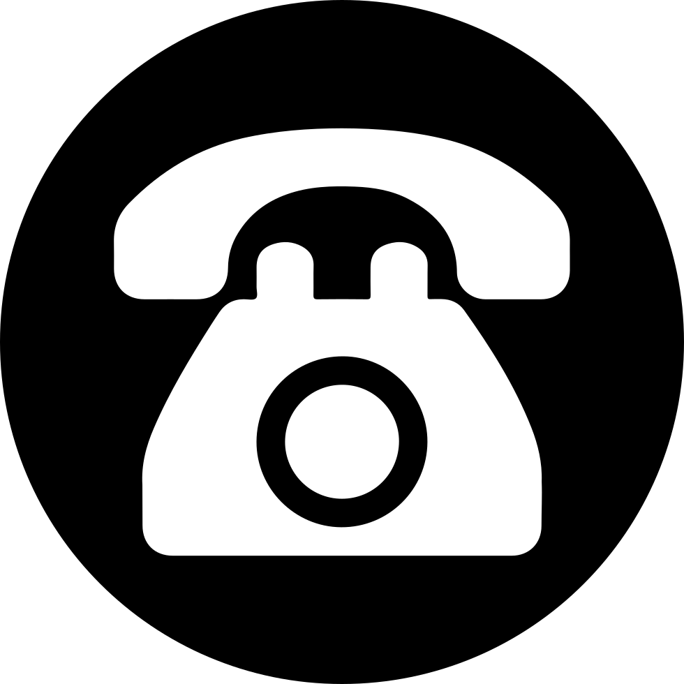 Side point svg free. Telephone icon png