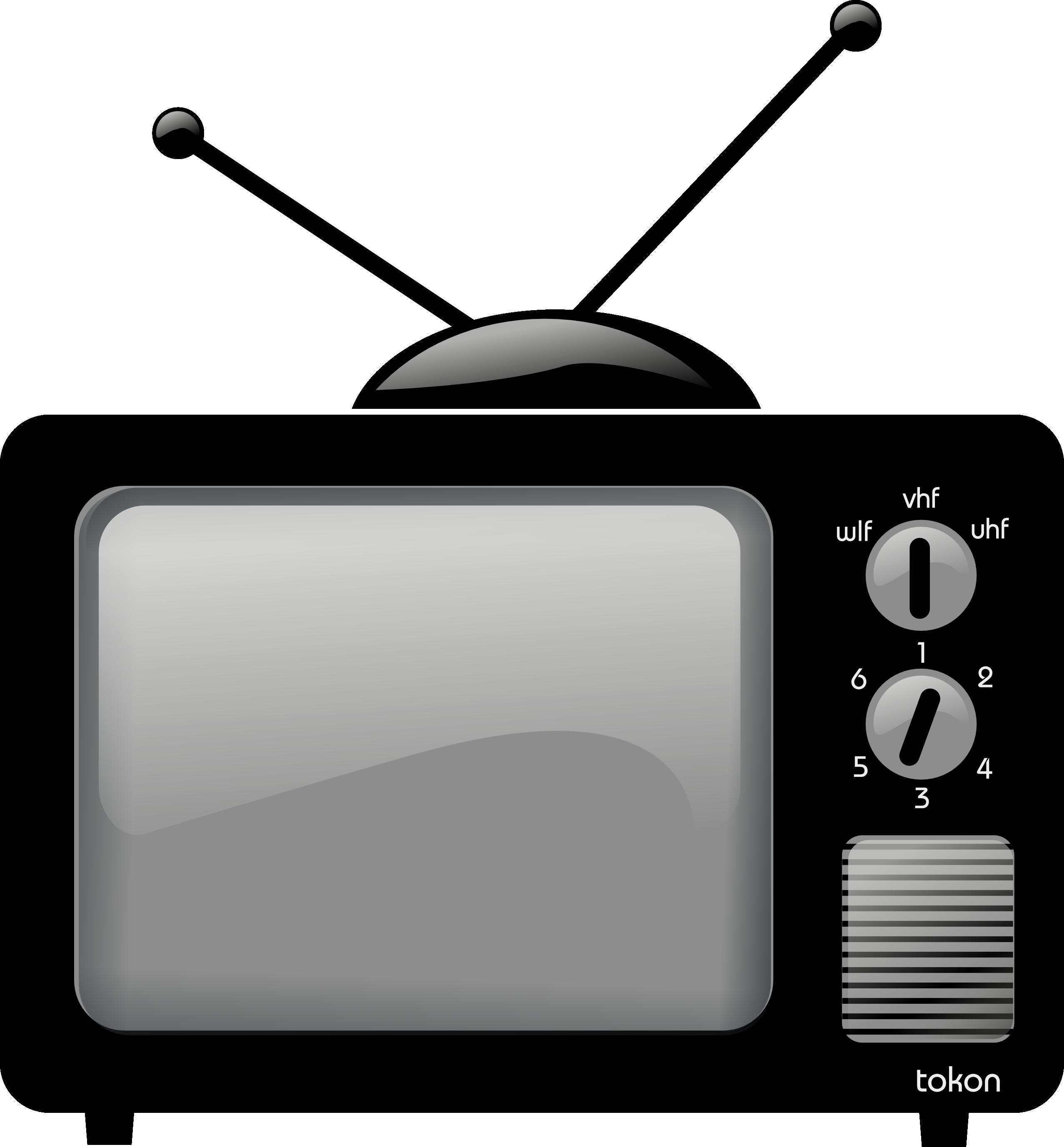 Clip art television panda. Tv clipart