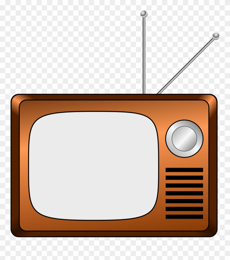 Clipart tv television. Cliparts old fashioned cartoon