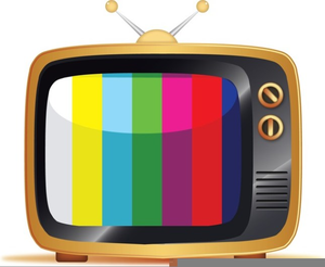 Free images at clker. Television clipart animated