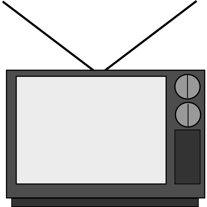 Free pictures download clip. Television clipart blank tv