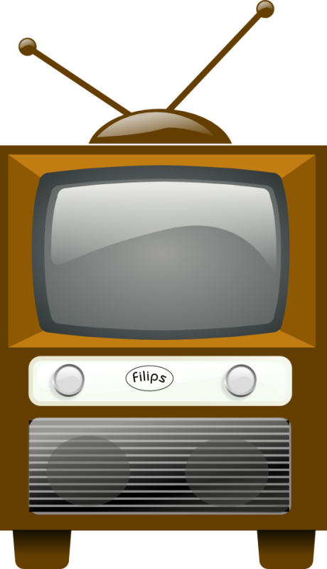 Television clipart box tv. Hubpicture pin