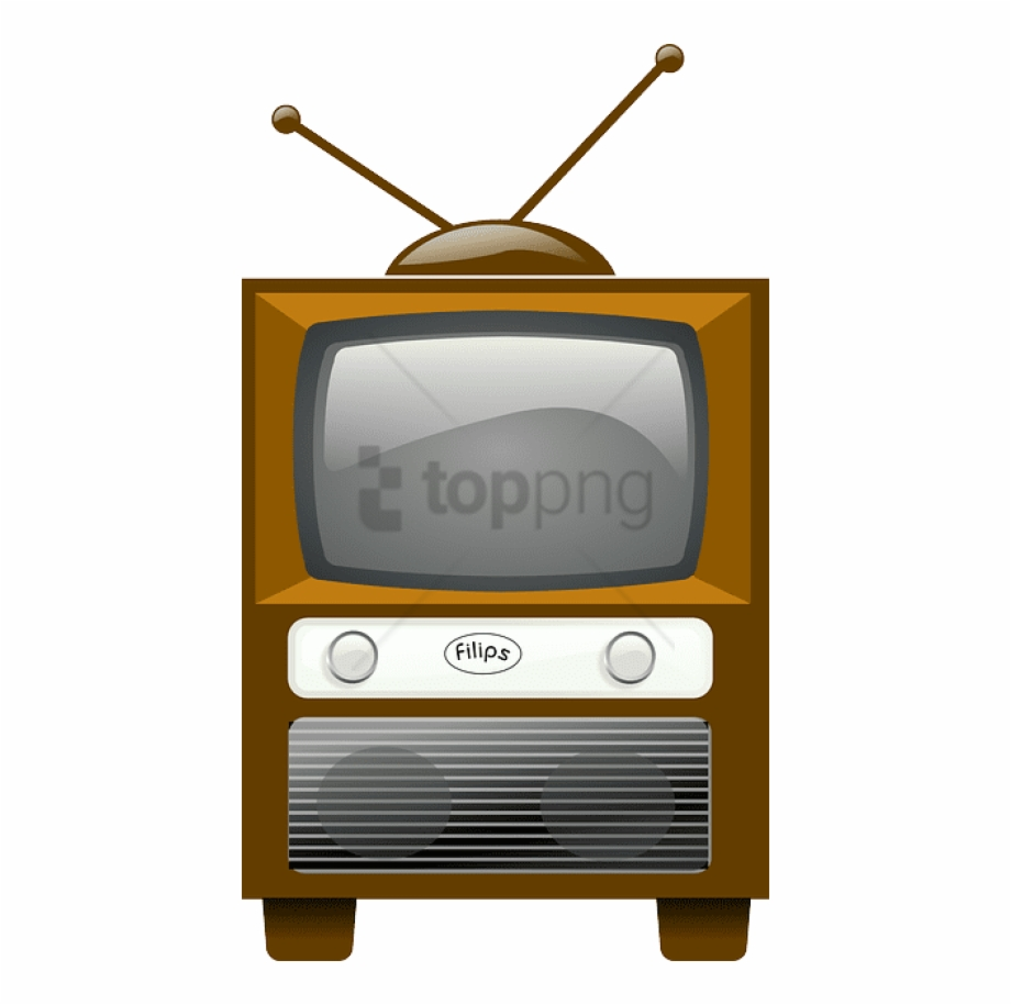 Free png old image. Television clipart cartoon tv