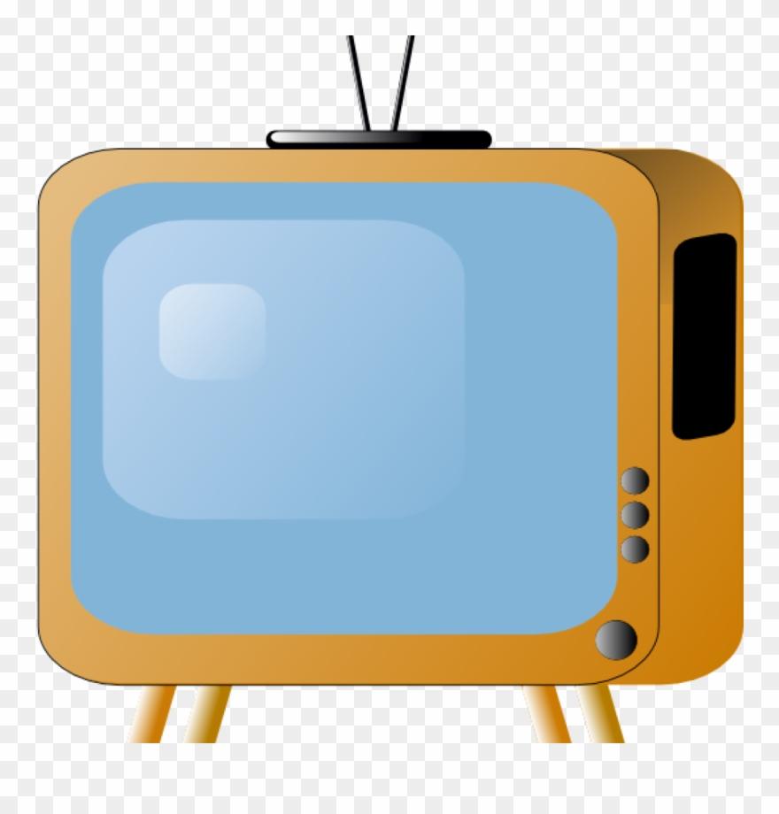 Tv set music s. Television clipart clip art
