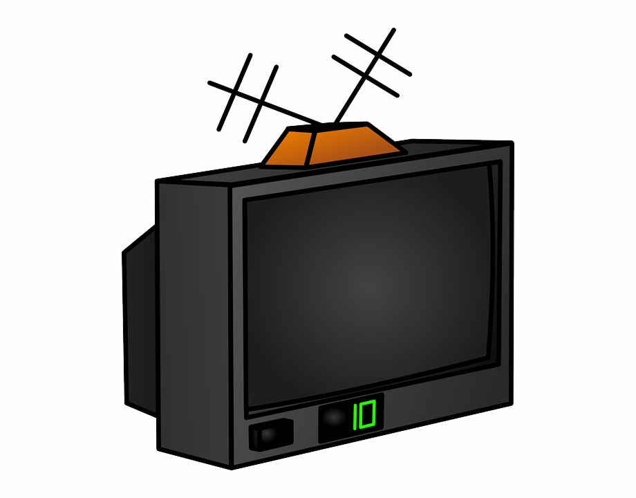Old tv transparent png. Television clipart clip art