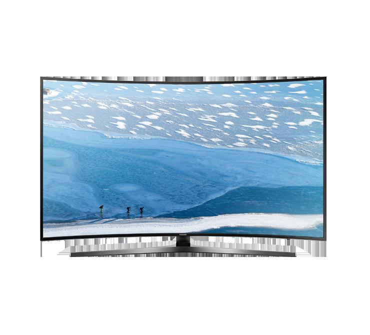 Samsung ku curved uhd. Television clipart colour tv