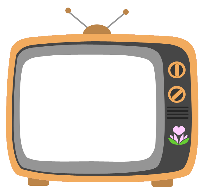Mlp spring heart brand. Television clipart colour tv