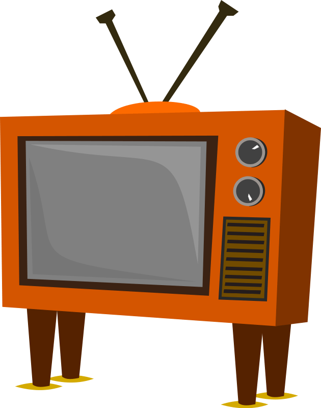 Tv cliparts zone . Television clipart first