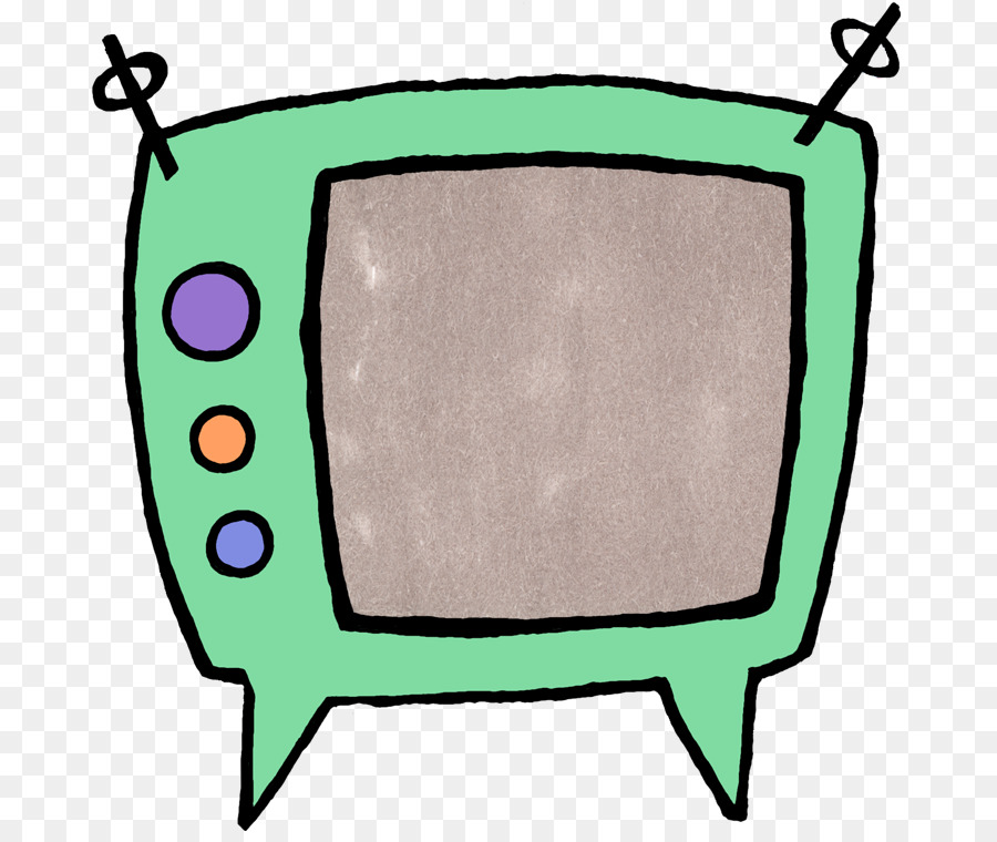 Television clipart green. Background frame cartoon
