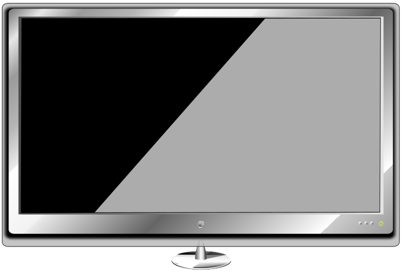 Television clipart hd tv. Monitor cliparts free download