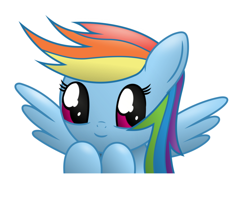 Television clipart kawaii. Rainbow dash project by