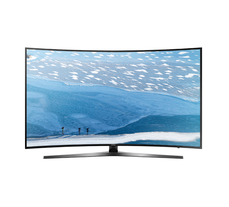 Samsung ku curved uhd. Television clipart led tv