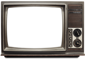 Tv png images background. Television clipart old fashioned