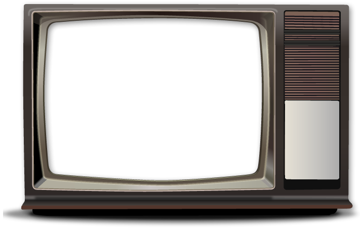Television clipart old school. Screens transparent png pictures