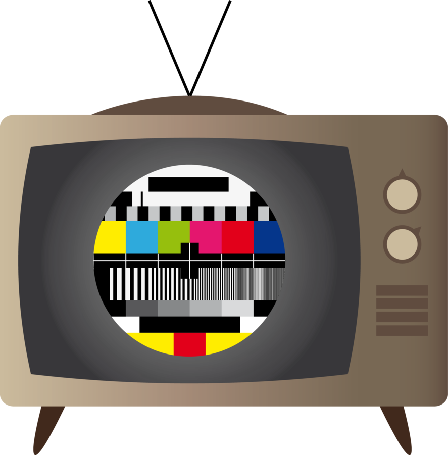 Tv by markjie on. Television clipart old school