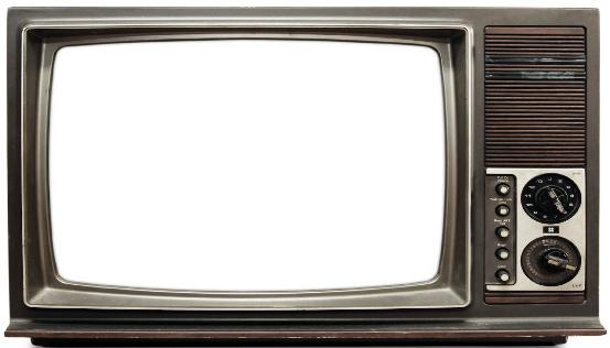 Clip art library . Television clipart old school