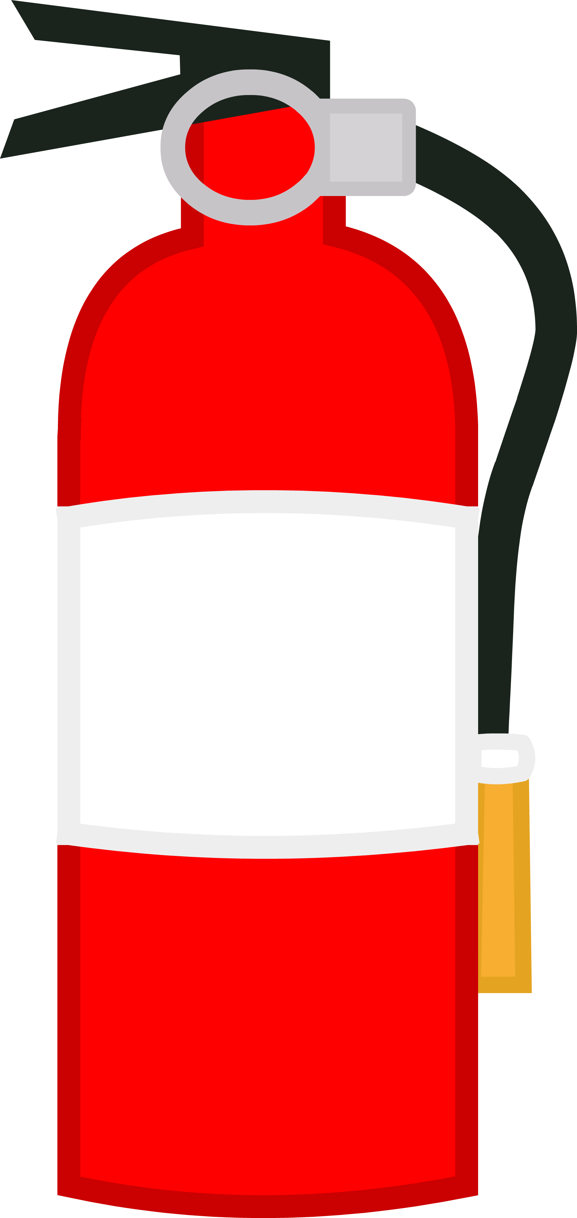 Television clipart plastic object. Image new extinguisher body