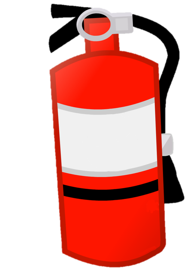 Television clipart plastic object. Image fireextinguisher idle png