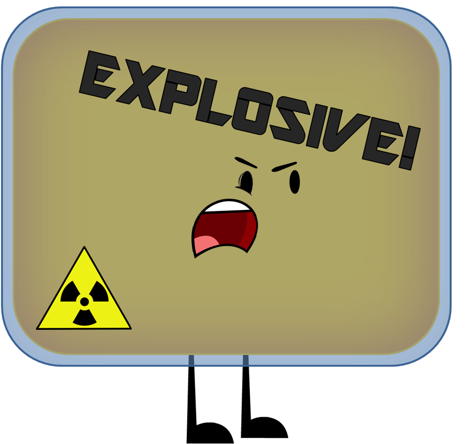 Television clipart plastic object. Explosive hotness wikia fandom