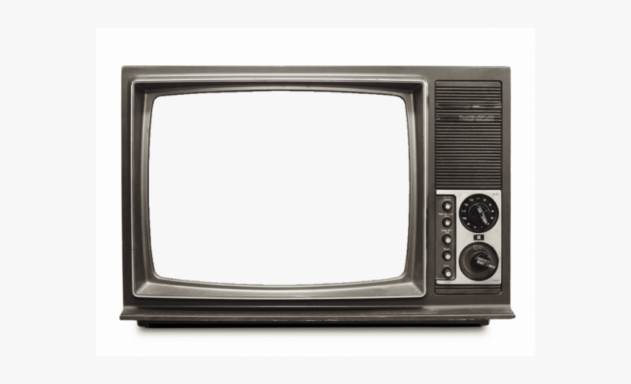 Transparent old . Television clipart round object