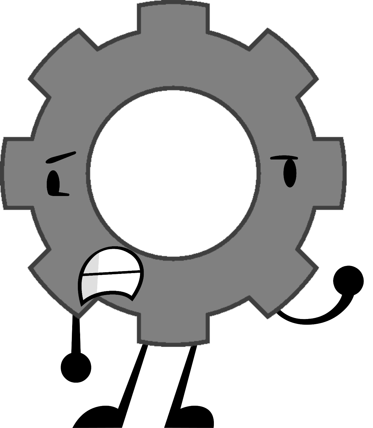Television clipart round object. Gear oppose wikia fandom