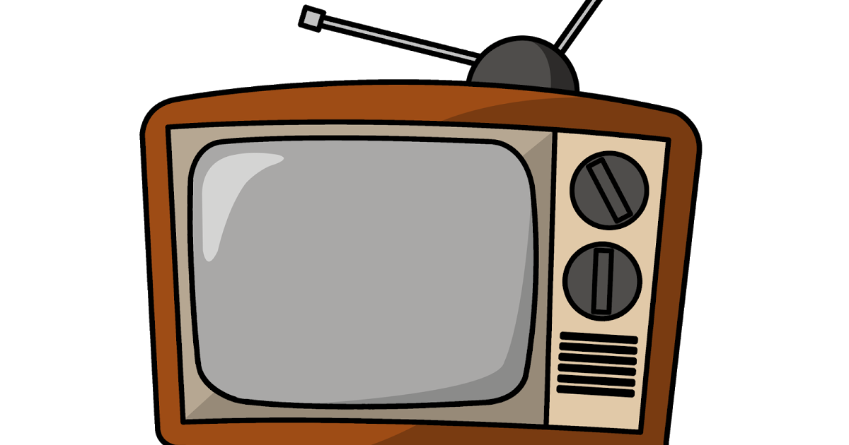 Television clipart simple. Just keep swimming mama