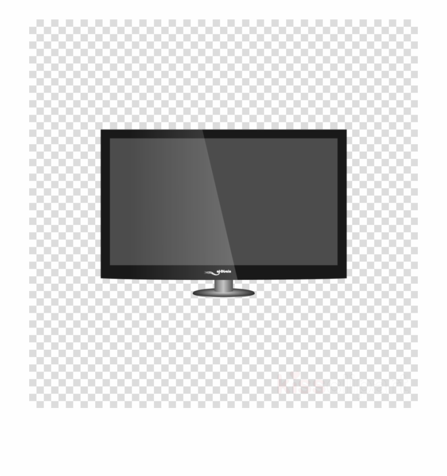 Product technology transparent . Television clipart simple