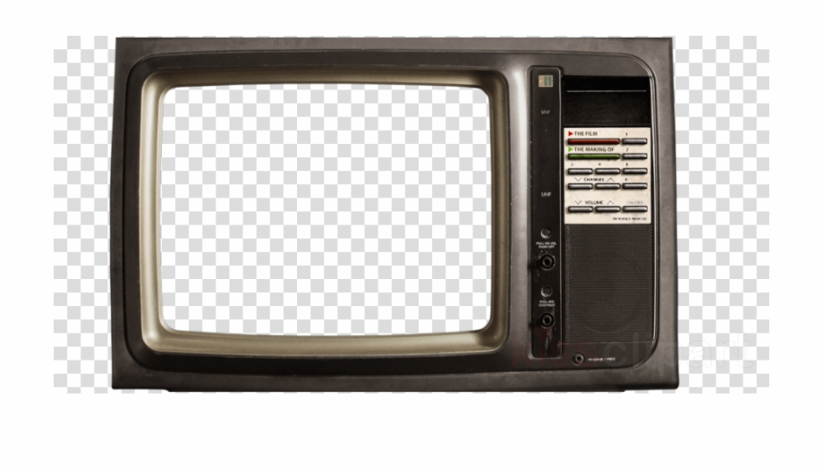 Download old png . Television clipart small tv