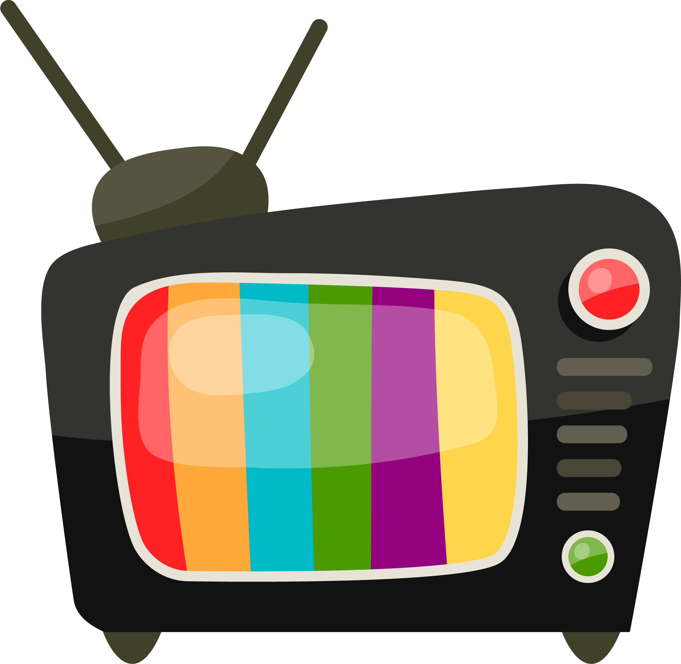 Television clipart tele. Png transparent free images
