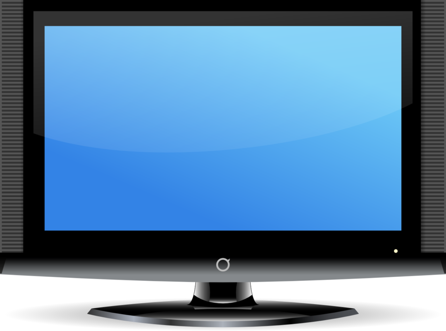 Television clipart tele. Technology background monitor