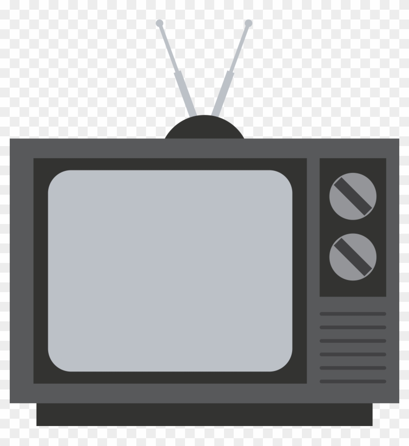Old transparent background tv. Television clipart tele