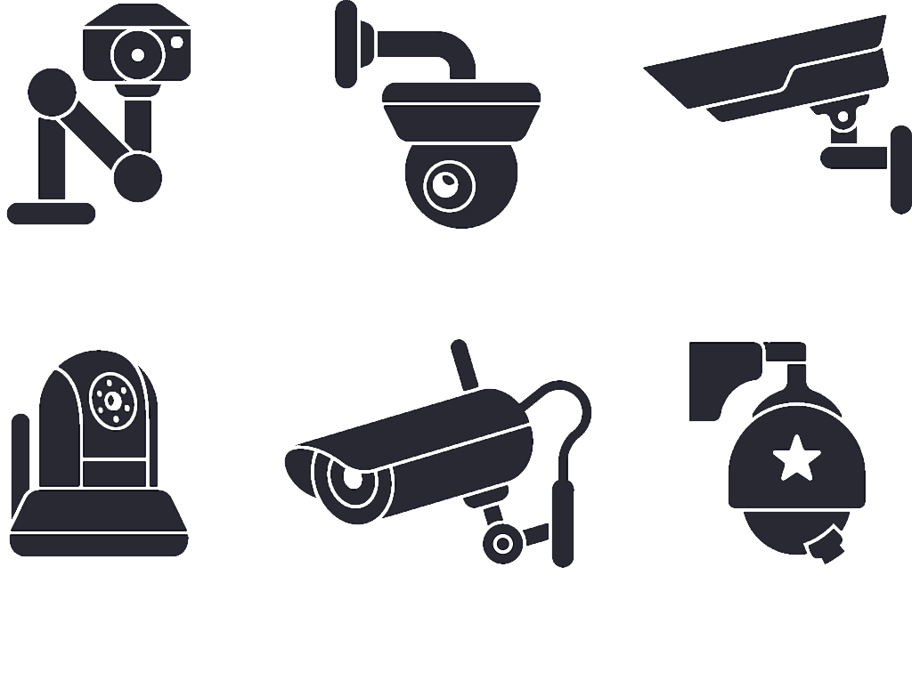 Television clipart television camera. Wireless security closed circuit
