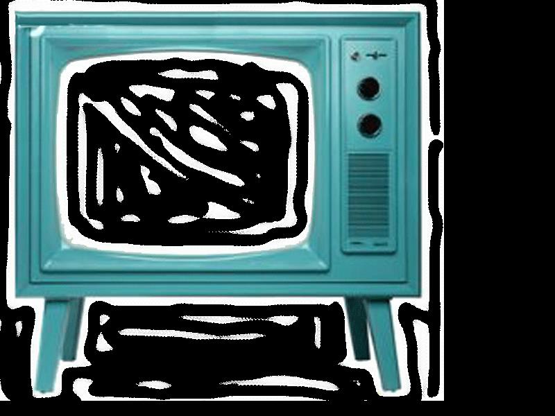television clipart transparent