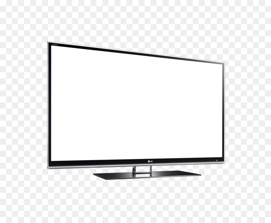 Television clipart tv lg. White background technology line
