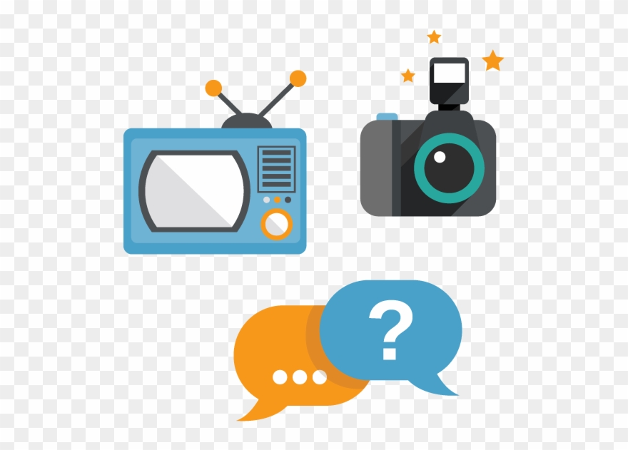 Creative and radio . Television clipart tv production