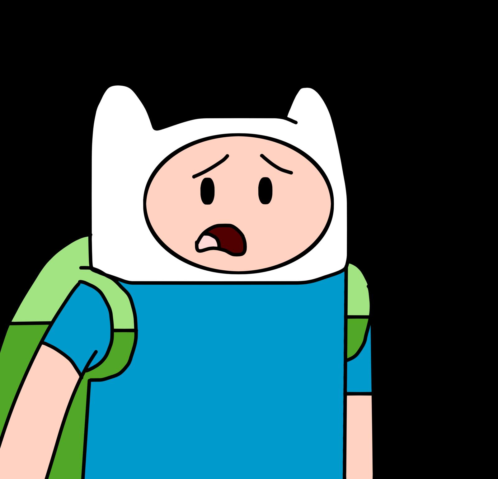 Television clipart watch movie. Finn talks about adventure