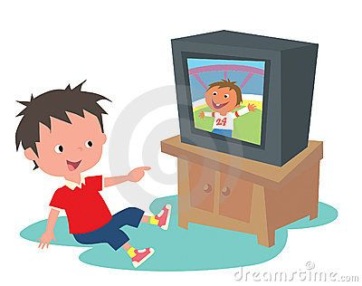 Watching home videos google. Television clipart watch video