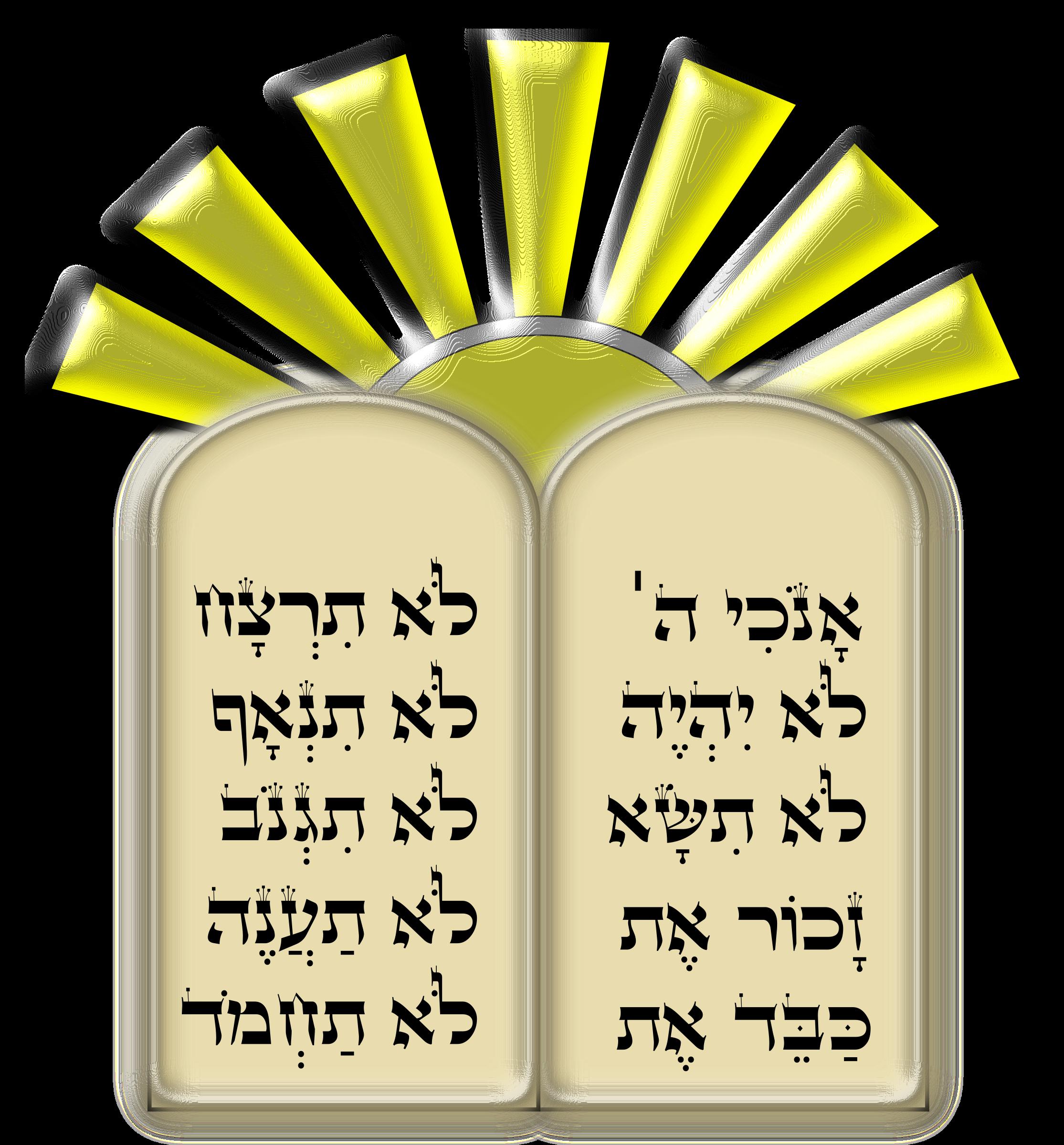 Ten commandments clipart. Big image png