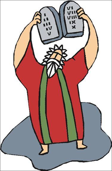 Ten commandments clipart.  best clip art