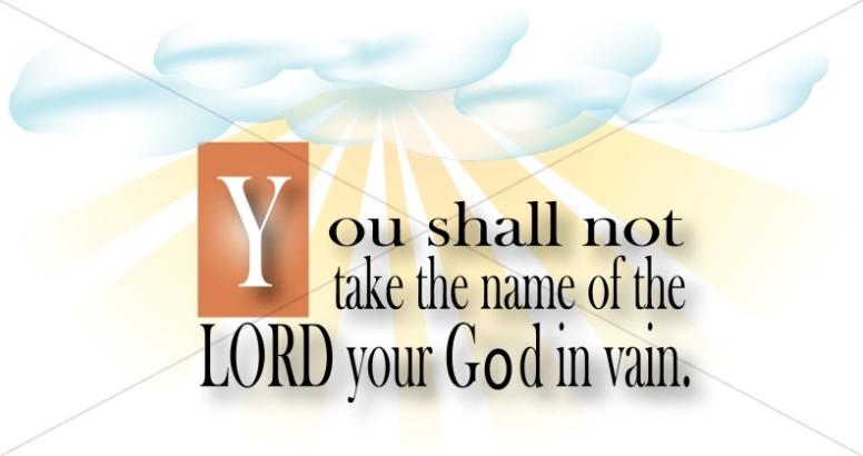 Third commandment moses . Ten commandments clipart 3rd