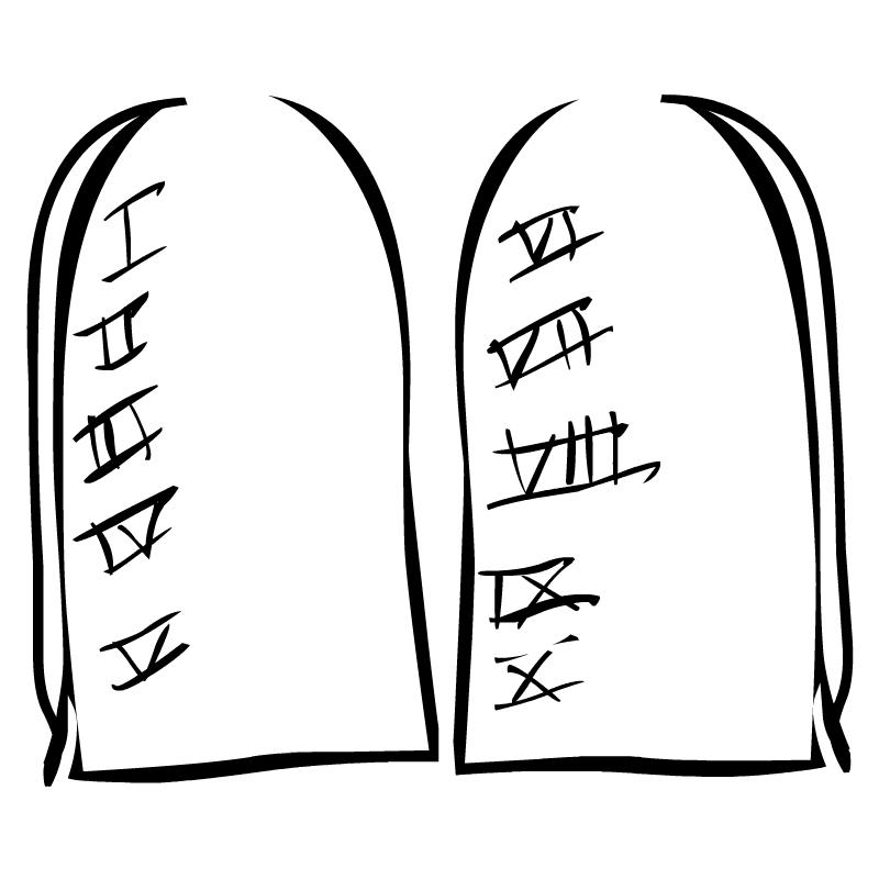 Ten commandments clipart. Clip art panda free