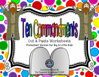 for kids worksheets. Ten commandments clipart 4th